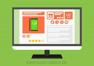 onlineshop positionierun