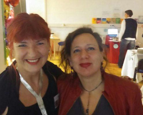 Super Sabine und Judith Schröer