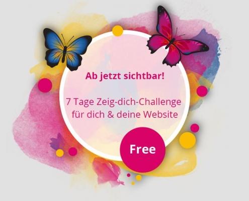 zeig-dich-challenge 7 Tage