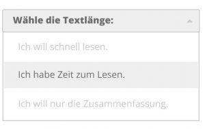 webtext länge mobilfreundlich