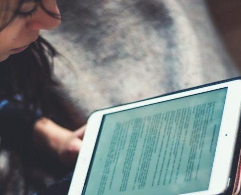 lesbarkeit von texten