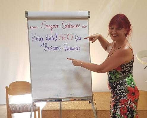 supersabine seo vortrag