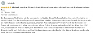 amazon-melanie-feedback buch