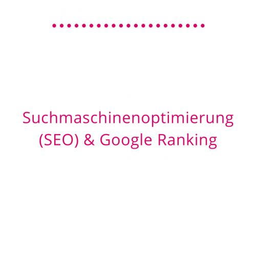 Suchmaschinenoptimierung (SEO) und Google Ranking