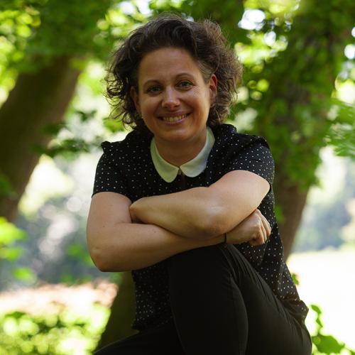 Business-Frau Mirjam Hauptfleisch
