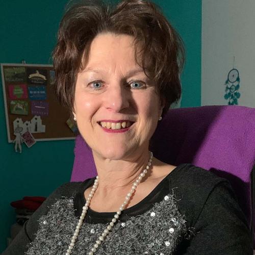 Geschäftsfrau Sabine Gläsel