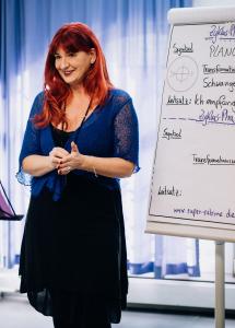 Sichtbarkeit im Seminar lernen - mit Super Sabine