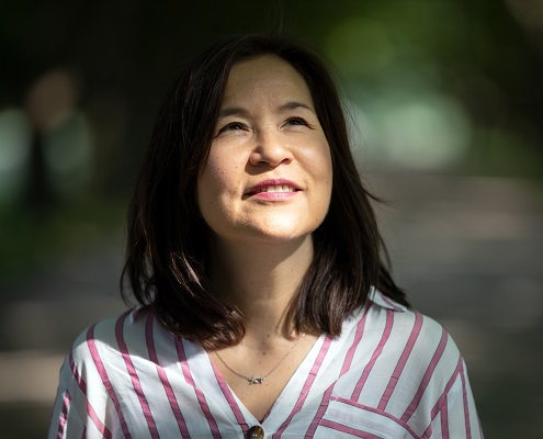 Businessfrau Sabine Kakizaki