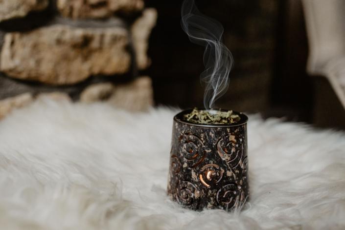 räuchern schamanisches ritual